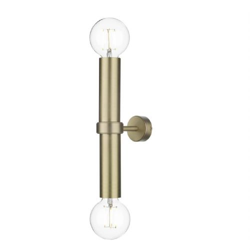 Adling Double Wall Bracket Butter Brass ADL0940 (7-10 day Delivery) (Double Insulated)